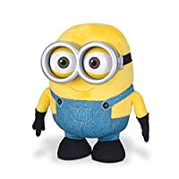 Choose from super soft and cuddly Stuart, Bob or Kevin Huggable Plush! Sold separately, each toy comes with soft plastic goggles!Each Minion is soft & huggable ranging in size from approx. 18cm - 25cm tall. Choose from Stuart, Bob or Kevi...