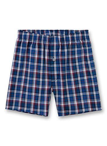 Sanetta Jungen Woven Shorts Boxershorts, Blau (Classic Blue 5968), 176