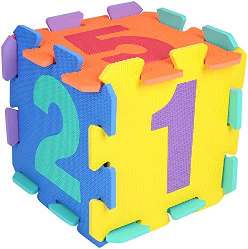 Preisvergleich Produktbild Bieco 19201505 - Puzzlematte Zahlen, 10 Teile