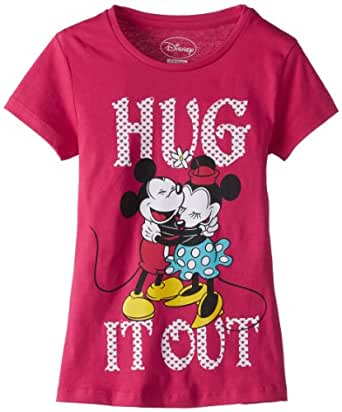 Disney Mickey And Minnie Mouse Girl's T Shirt