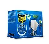3x Raid Mücken Stecker/ schnelle und langanhaltende Wirkung/ je 45 Nächte/ Mücken&Tigermücken/ Duftfrei/ 1Stecker+1Nachfüller