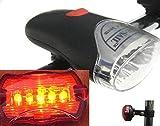 Soytich FahrradLeuchte Fahrradlampe Fahrrad Leuchte fahrradstrahler LED Lampe F1