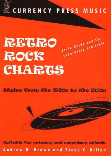 Retro Rock Charts: Styles from the 1960s to the 1990s Suitable for Primary and Secondary Schools