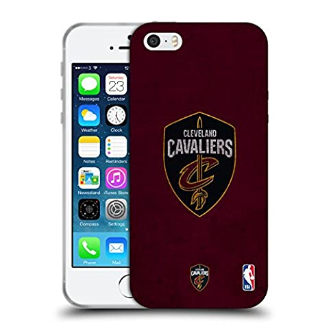 Coque Iphone 5 Nba - Officiel NBA Affligé Cleveland Cavaliers Étui Coque