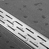 ESS edelstahl Duschrinne Komplettset Easy Drain Compact 30 FF 80 cm - Die flachste der Welt!