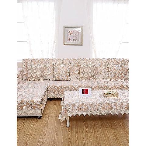 ZY/ classico divano copertura jacquard di alta