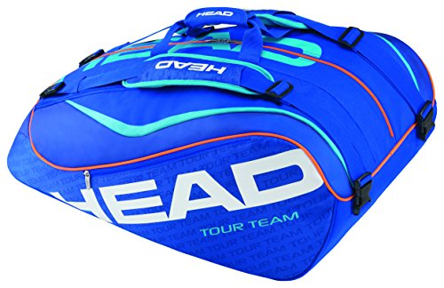 HEAD Schlägertasche Tour Team 12R Monstercombi, Blau, 77 x 44 x 35 cm, 55 Liter, 283205-bl