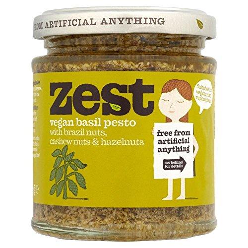 Zest Pesto De Albahaca Vegana (165g) (Paquete de 6)