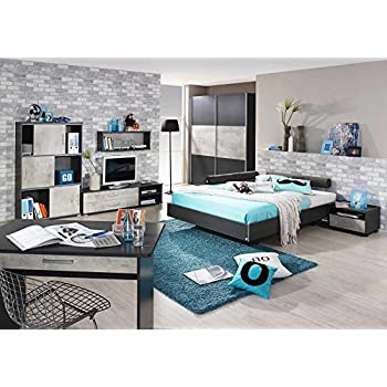 lifestyle4living jugendzimmer komplett set jungen. Black Bedroom Furniture Sets. Home Design Ideas