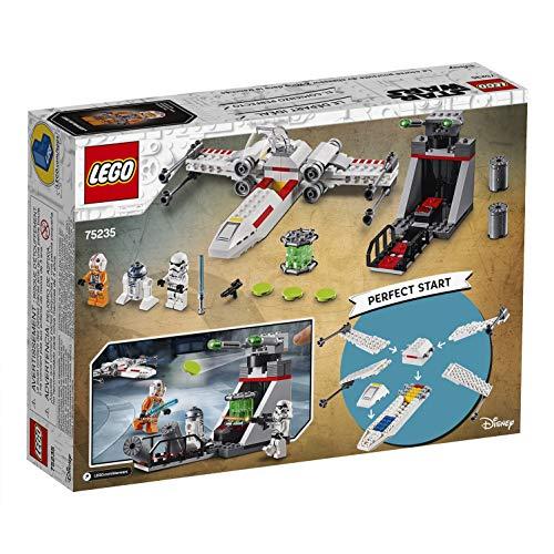 514iKEUzYiL - LEGO Star Wars - Asalto a la Trinchera del Caza Estelar Ala-X, juguete de construcción de nave espacial de La Guerra de las Galaxias (75235)