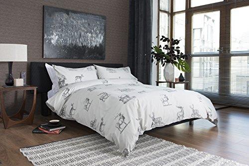 Atlantique Hartland (Bettbezug Set, Polyester-, Mehrfarbig, doppelt