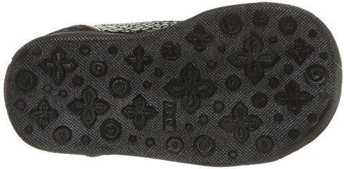 Catimini Carassin, Chaussures Premiers pas bébé fille Gris (Crt Bronze/Noir Dpf/Gluck)