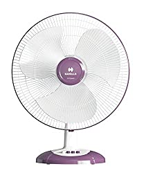 Havells Swing LX 400mm Table Fan (Purple)