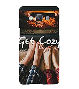 Bluethroat couple getting cosy in winter Back Case Cover for Samsung Galaxy A7 (2015) :: Samsung Galaxy A7 Duos (2015) :: Samsung A7 A700F A700Fd A700K/A700S/A700L A7000 A7009 A700H A700Yd