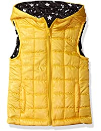 Urban Republic Girls' Light Weight Puff Reversible Vest