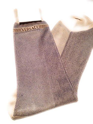 versace-socks-calze-uomo-beige-taglia-unica