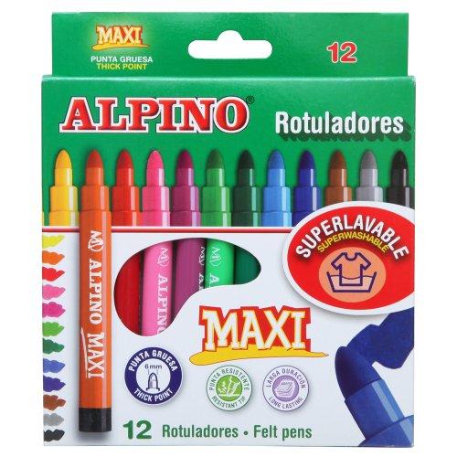 Alpino-AR000006-Estuche-de-12-rotuladores-Maxi