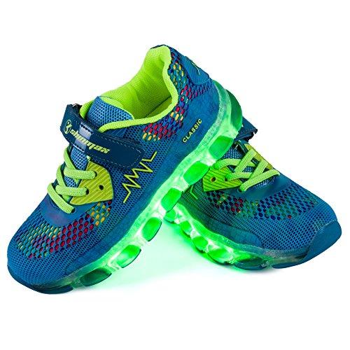 Shinmax-LED-Zapatos-Primavera-Verano-Otoo-Transpirable-Zapatillas-LED-7-Colores-Recargables-Luz-Zapatos-de-Deporte-de-Zapatillas-con-Luces-Para-Nios-Nias-con-CE-Certificado