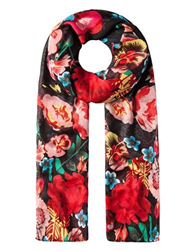 Vincenzo Boretti Damen Schal Tuch modisch - mit dekorativem Blumenmuster