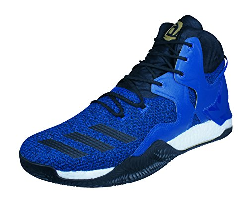 adidas D Rose 7 Herren-Basketball Turnschuhe/Schuhe-Blue-48.67 -