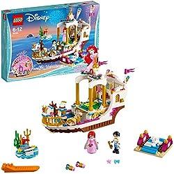 Lego Disney Princess Barca della Festa Reale di Ariel, Multicolore, 41153