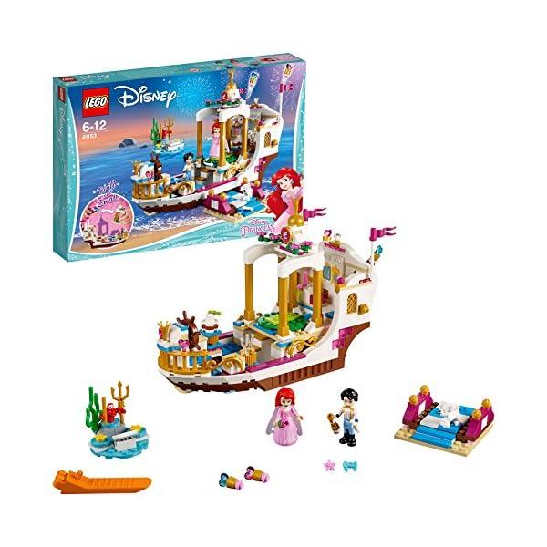 LEGO- Disney Princess Barca della Festa Reale di Ariel, Multicolore, 41153 2 spesavip