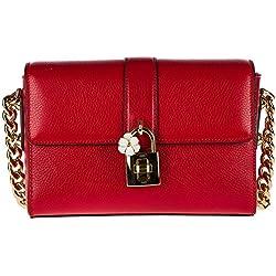 Dolce&Gabbana bolsos con asas largas para compras mujer en piel nuevo hobo rojo