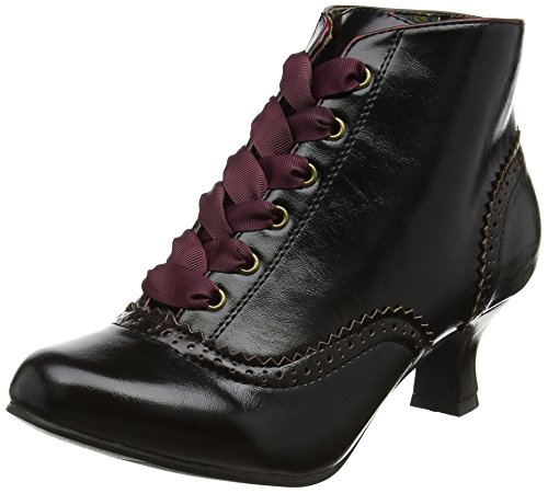 Joe Browns Damen Very Vintage Ankle Boots Pferdeschuhe, Rot (Burnished Red), 39 EU (6 UK) (Lace Vintage-heels)