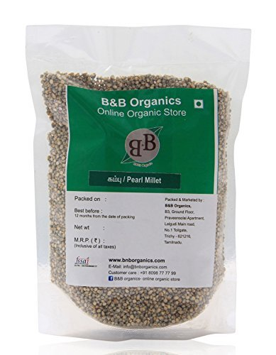 B&B Organics Pearl Millet (Bajra), 1 kg