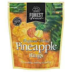 Forest Feast Tropical Dried Pineapple Rings 125g