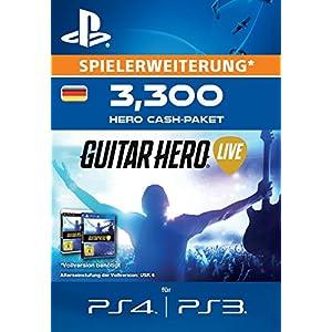 Guitar Hero Live – 3300 Hero Cash-Paket [Spielerweiterung] [PS4 PSN Code – deutsches Konto]