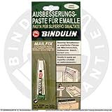 Bindulin Mailfix – Recubrimiento de pasta plástica fluida para reparación de esmalte y porcelana, elimina defectos en superficies esmaltadas, 7 g, color blanco