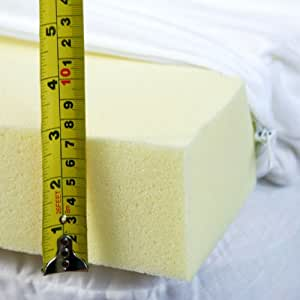 7cms 3 Inch Deep Double Size Memory Foam Mattress Topper