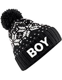 TTC Boy Aztec Bobble Hat