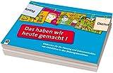 Das haben wir heute gemacht!: Bildkarten für die Planung und Dokumentation von Aktivitäten in den Bildungsbereichen