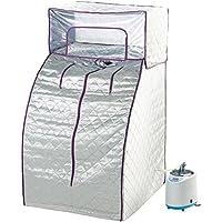 newgen medicals Sauna: Heim-Premium-Dampfsauna, stabiles Nylon, Kopfabdeckung, 900 W (Heimsauna)