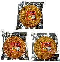 Joyable Khakhra - Combo of 3 Flavors (Methi, Masala, Garlic)