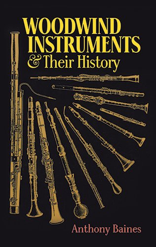 Woodwind Instruments and Their History (Book & CD) por Anthony Baines