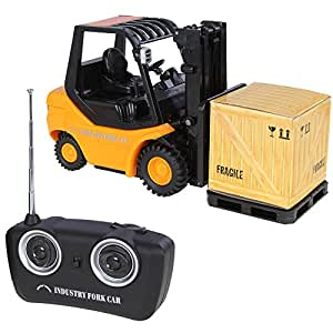 lujex new mini rc toy fork lift radio remote control truck. Black Bedroom Furniture Sets. Home Design Ideas