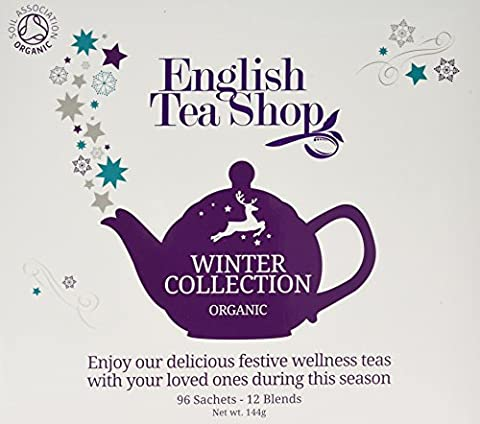 English Tea Shop Organic Holiday Winter Tray Chamber Poly Sachet