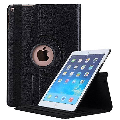 Robustrion Smart 360 Degree Rotating Stand Cover For iPad 2017 9.7 inch...