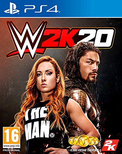 WWE 2K20 with Amazon Exclusive DLC (PS4)