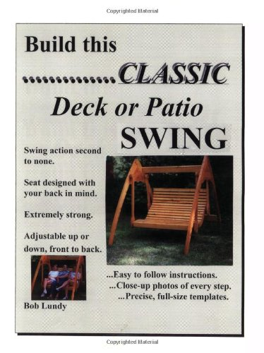 Build This Classic Deck Or Patio Swing - Swing-deck