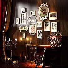 Muro fotográfico creativo / Muro creativo para portarretratos / Portaretrato / pared de madera, que