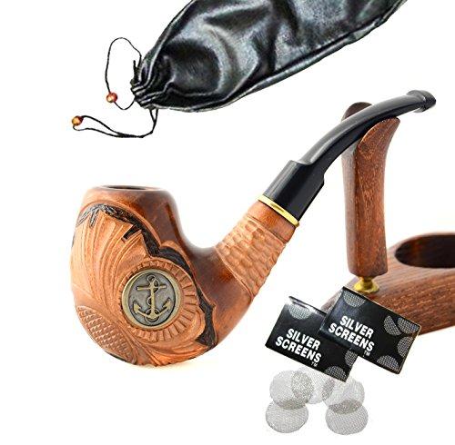 Dunhill-modell (Handgemacht rauchpfeife aus birnbaum Tabak Pfeife Pipe Tabakpfeife