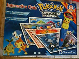 Clementoni - Pokemon Diamond And Pearl Interactieve Quiz