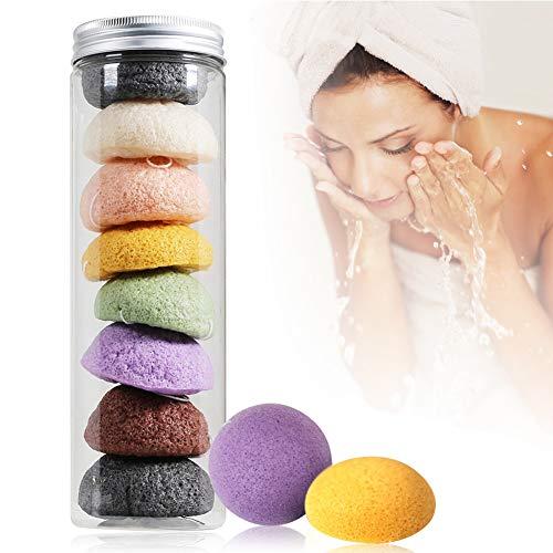 Limpiador facial natural de Konjac de Baño para la Limpieza Facial Profunda Corporal & Facial