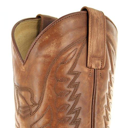 Sendra Boots  2073, Bottes et bottines cowboy mixte adulte Beige - Olimpia 023