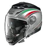CASCO JET SCOMPONIBILE NOLAN N44 EVO ITALY ALLUMINIO N-COM 15 TAGLIA L