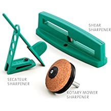 Multi-Sharp® 1801 Kit de Afilado de Cuchillas Multiusos para Herramientas de Jardín para